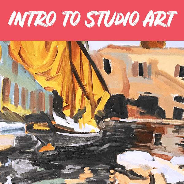 Adult Intro to Studio Art